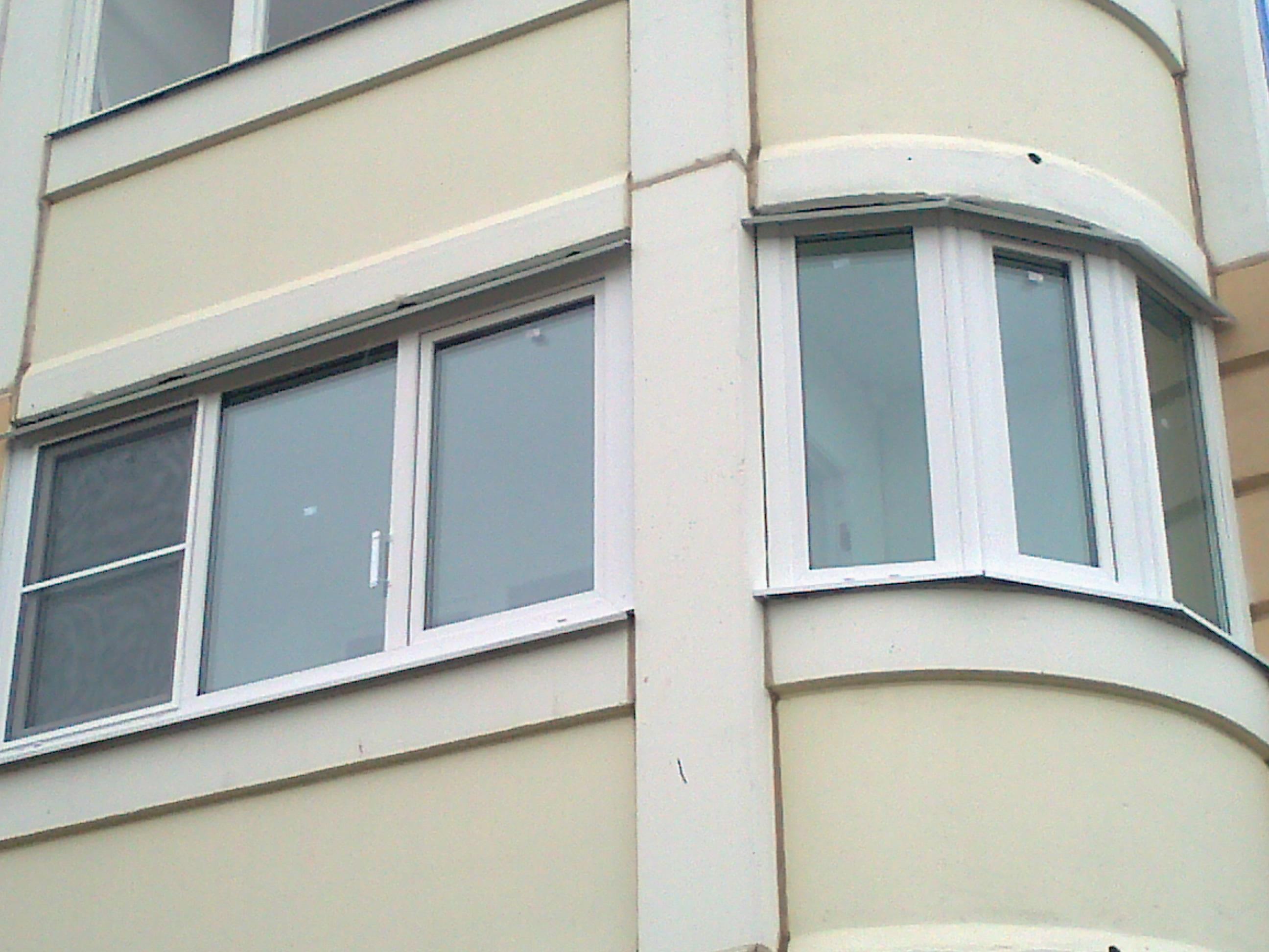 Остекление балконного эркера. - дизайн маленьких лоджий - ка.