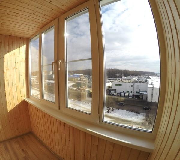 Остекление и обшивка балконов в г. Щелково, Пролетарский проспект