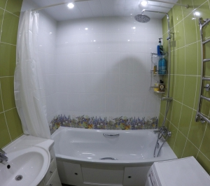 Ремонт ванной и туалета в Щелково-3, Циолковского 6