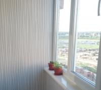 Остекление с утеплением и обшивкой балкона