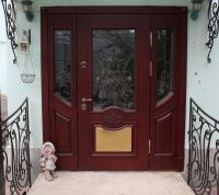Изготовление и установка эксклюзивной металлической двери по индивидуальному заказу г.Королев
