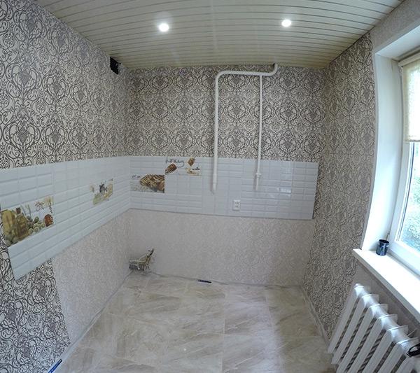 Ремонт кухни в пос. Юность Щелковского района